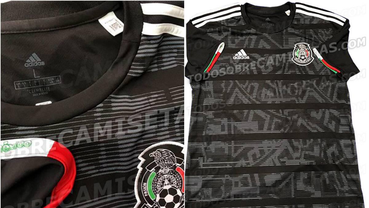 fd06ea18fc978 Filtran posible camiseta de Selección Mexicana para 2019 - AS México