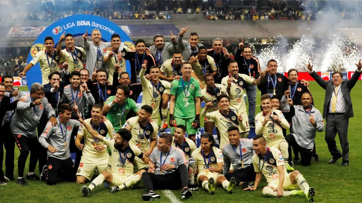 59c75913694 América es campeón de la Liga MX tras vencer a Cruz Azul - AS México