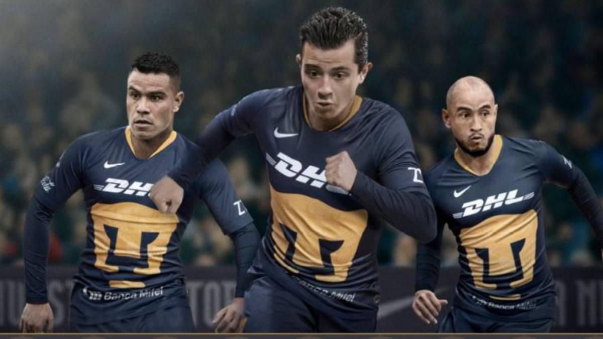 3f468360a03 Pumas presentó su tercer uniforme para el Clausura 2019 - AS México