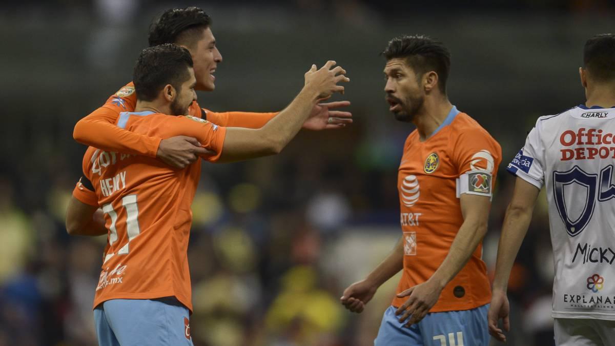 c566f21c915 Fin del partido: América golea a Pachuca en el Clausura 2019 - AS México