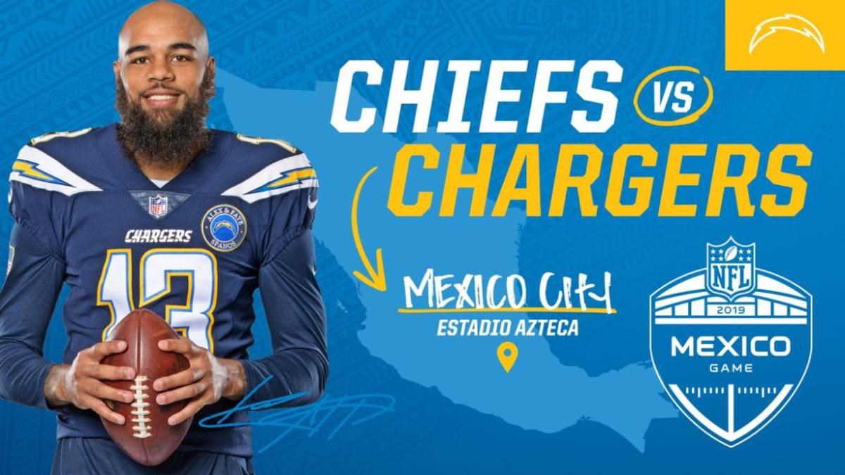 NFL en México  Chiefs enfrentará a Chargers en Ciudad de México - AS México a6f5f90bcdf
