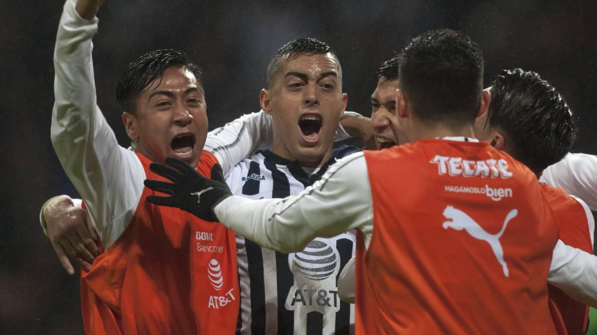 da73fa5d60dbd Monterrey venció al América en la jornada 4 del Clausura 2019 - AS ...