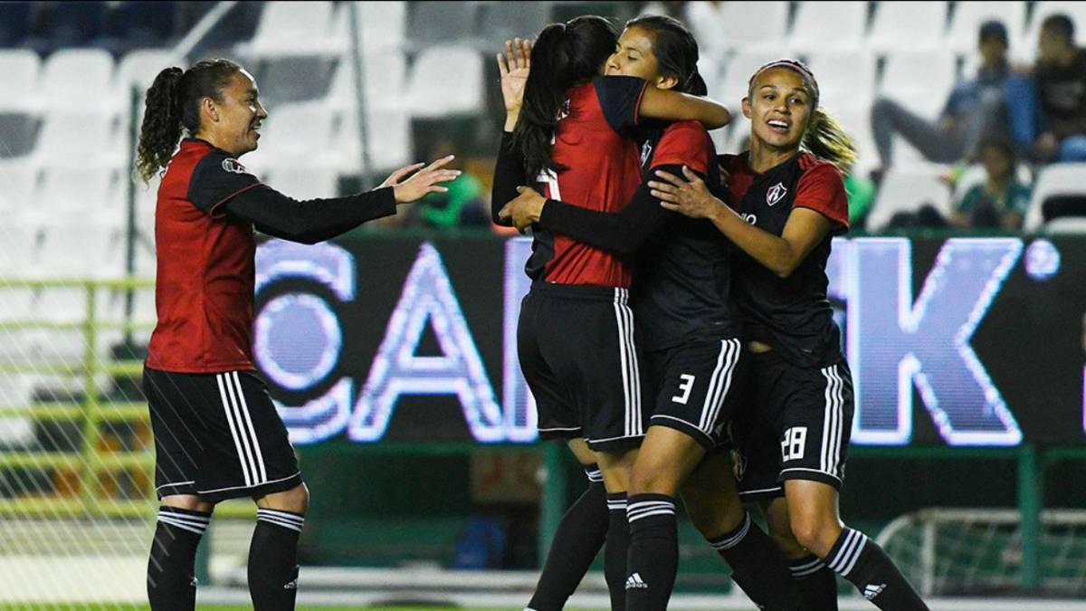 Atlas vence a León y es líder del grupo 2 de la Liga MX Femenil - AS México 76dc619df717f