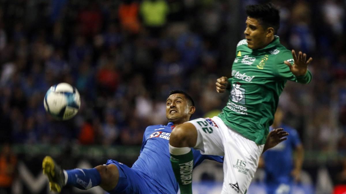 León – Cruz Azul (2-0)  resumen del partido y goles - AS México 2aa105ea3d5d4