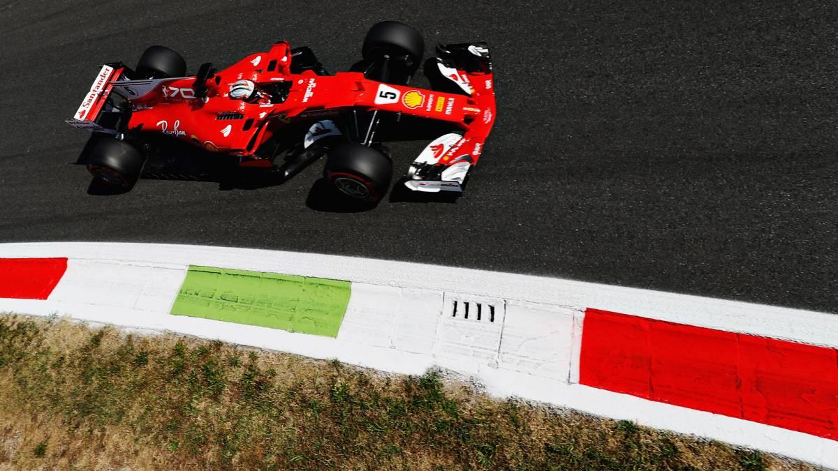 Resumen de la Clasificación del GP de Italia: pole de Hamilton