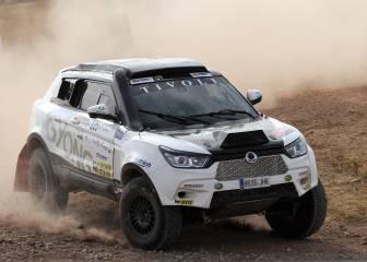 Óscar Fuertes y SsangYong participarán en el Dakar 2018