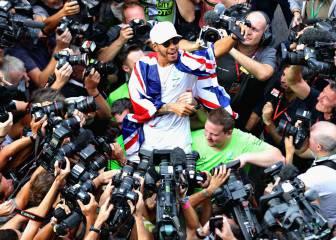 """Hamilton: """"Estrellas como Nadal o Federer me inspiran"""""""