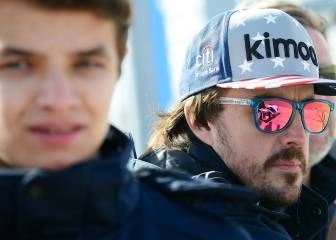 Norris: ?Me gustaría tener competencia con Alonso?