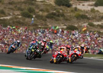 Siete carreras del Mundial de MotoGP será más cortas en 2018