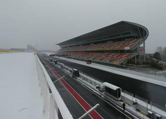 Los test en directo: se retrasa el inicio de la jornada por la nieve