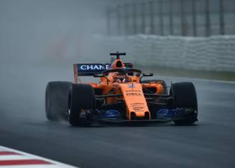 Los test en directo: Vandoorne, el más activo con el McLaren