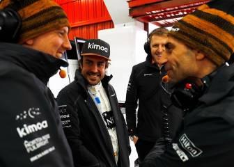 Alonso revela su lado más personal: familia, aficiones...