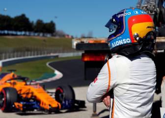 Los test: McLaren espera volver a pista con Alonso en tres horas