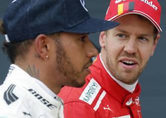 Hamilton vacila y Vettel responde seco sobre las redes