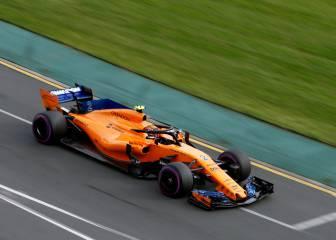 Los dos McLaren son los últimos en velocidad punta en Australia