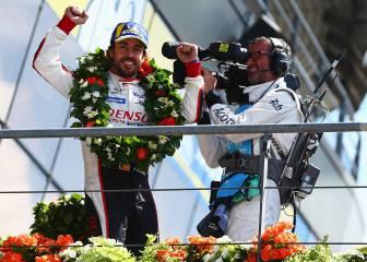 Así fue la victoria de Alonso en las 24 Horas de Le Mans