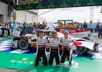 Victoria histórica de Alonso y Toyota en las 24H de Le Mans