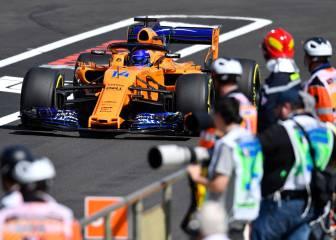 McLaren vuelve a fracasar: los dos coches eliminados en Q1