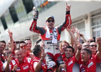 La victoria de Lorenzo en el GP de Austria en imágenes