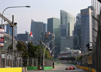 F1 GP de Singapur en Marina Bay: TV, horario y dónde ver online