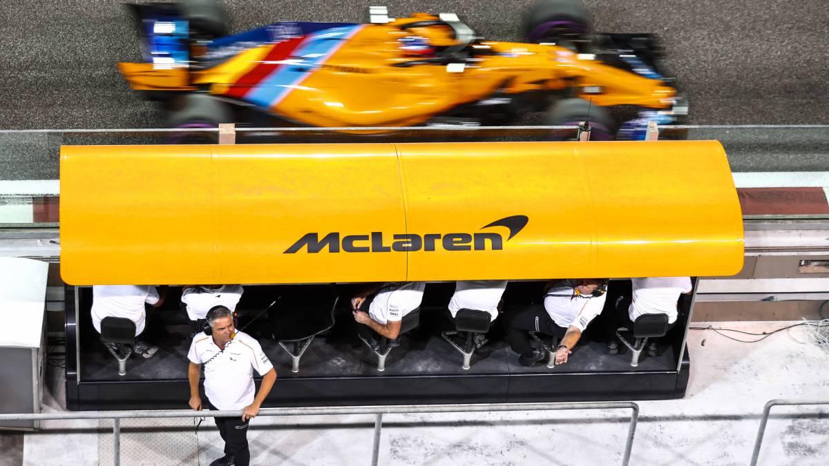 Resultado de imagen de el muro de McLaren