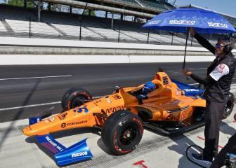 Alonso manda en los libres previos a la clasificatoria