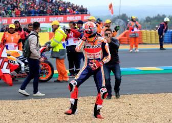 La victoria de Marc Márquez en Le Mans en imágenes