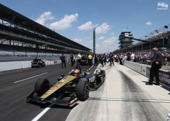 Indy 500 en directo: empiezan a secar la pista en Indianápolis