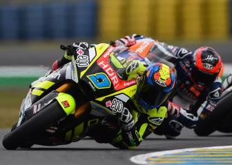 Carrera Moto2 en directo: cabeza de carrera para Márquez