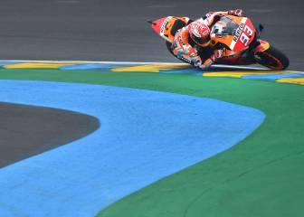 Márquez también pasa el rodillo en el GP de Francia