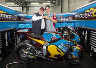 Márquez se queda en el Estrella Galicia de Moto2