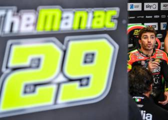 """MOTOGP """"No se sabe si Iannone prefiere mejorar su perfil de Instagram o el rendimiento de la Aprilia"""" 1"""