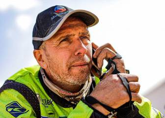 Fallece Edwin Straver tras su accidente en el Dakar 1