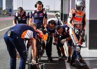 """MotoGP: El """"sufrimiento"""" de Honda 1"""