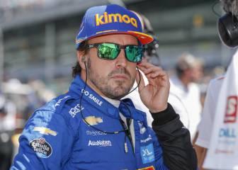 Alonso desvela en un directo los planes que tenía para Indy 500