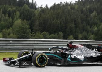 Resumen libres 1 y 2 GP de Austria: Mercedes pone orden