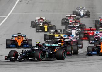 Desguace en Austria y podio increíble: Bottas, Leclerc, Norris