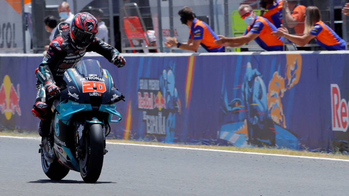 MotoGP-race-summary-in-Jerez:-Quartararo-opens