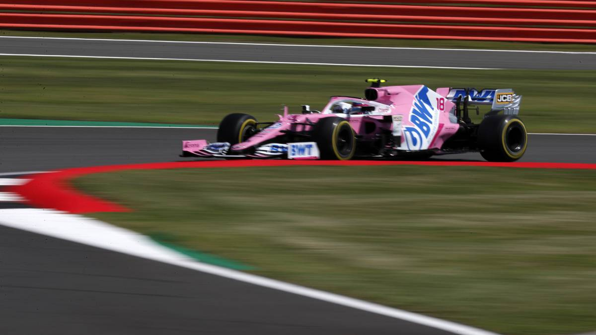 Free-roundup-1-and-2-British-GP:-Stroll-leads