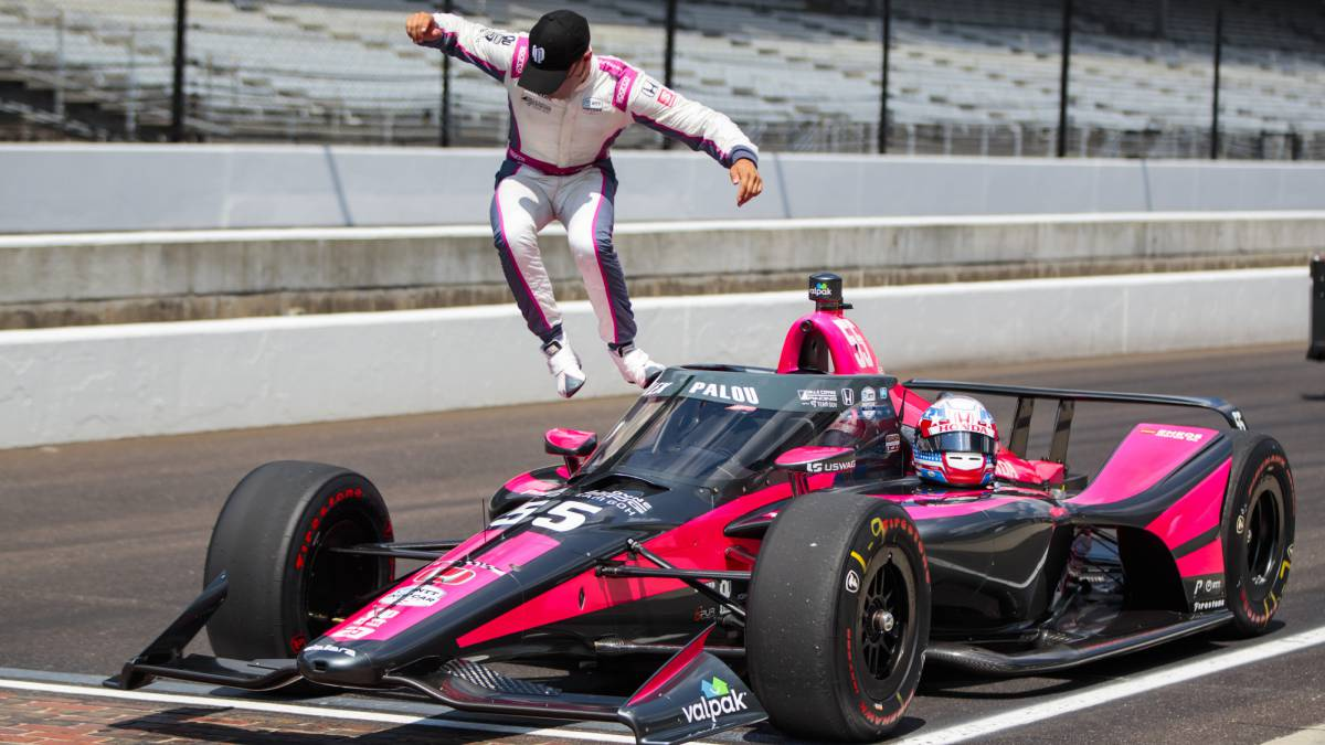 Andretti-pole-with-Palou-seventh-in-a-'Fast-Nine'-without-Alonso