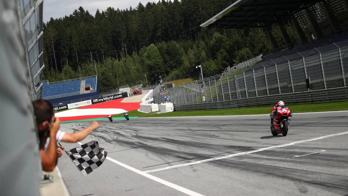 MotoGP-race-summary-in-Austria:-'Dovi'-is-back