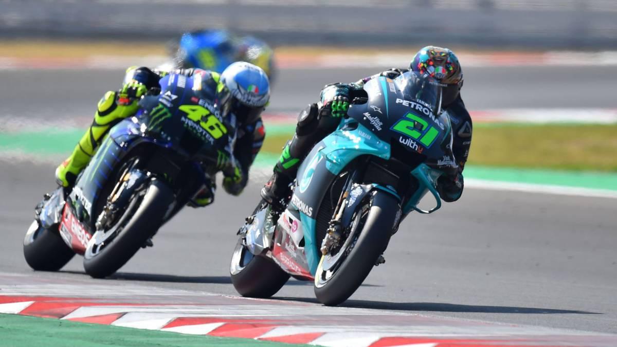 MotoGP-race-summary-in-Misano:-Morbidelli-debuts