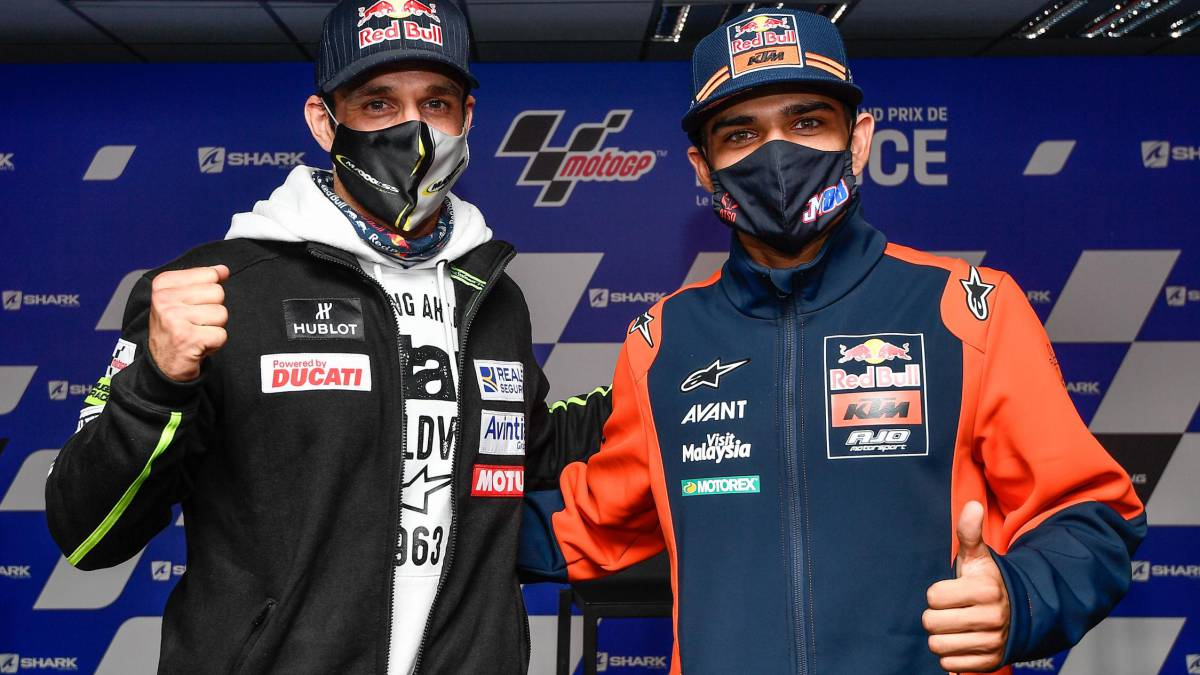 Zarco-accepts-sportingly-that-Ducati-chose-Bagnaia