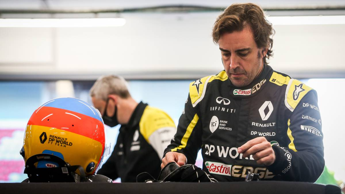"Alonso-and-the-test:-""For-now-the-car-is-faster-than-me"""
