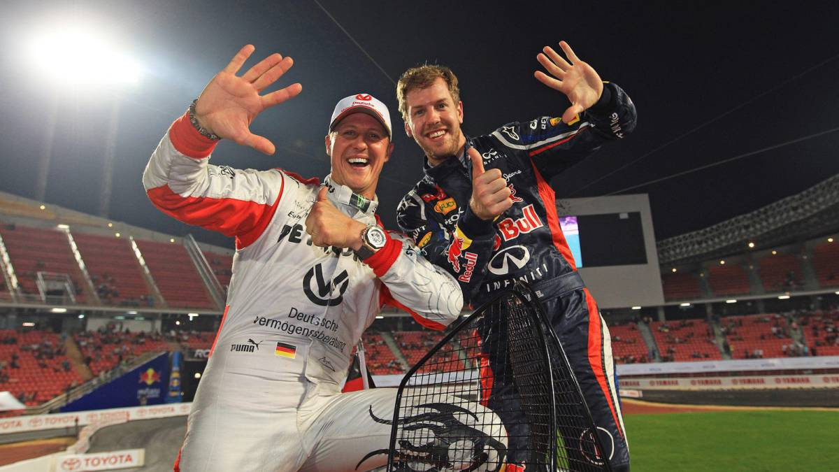 """Vettel:-""""Schumacher-is-the-best-driver-I-have-ever-seen"""""""