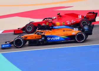 Ferrari se vuelca con Sainz