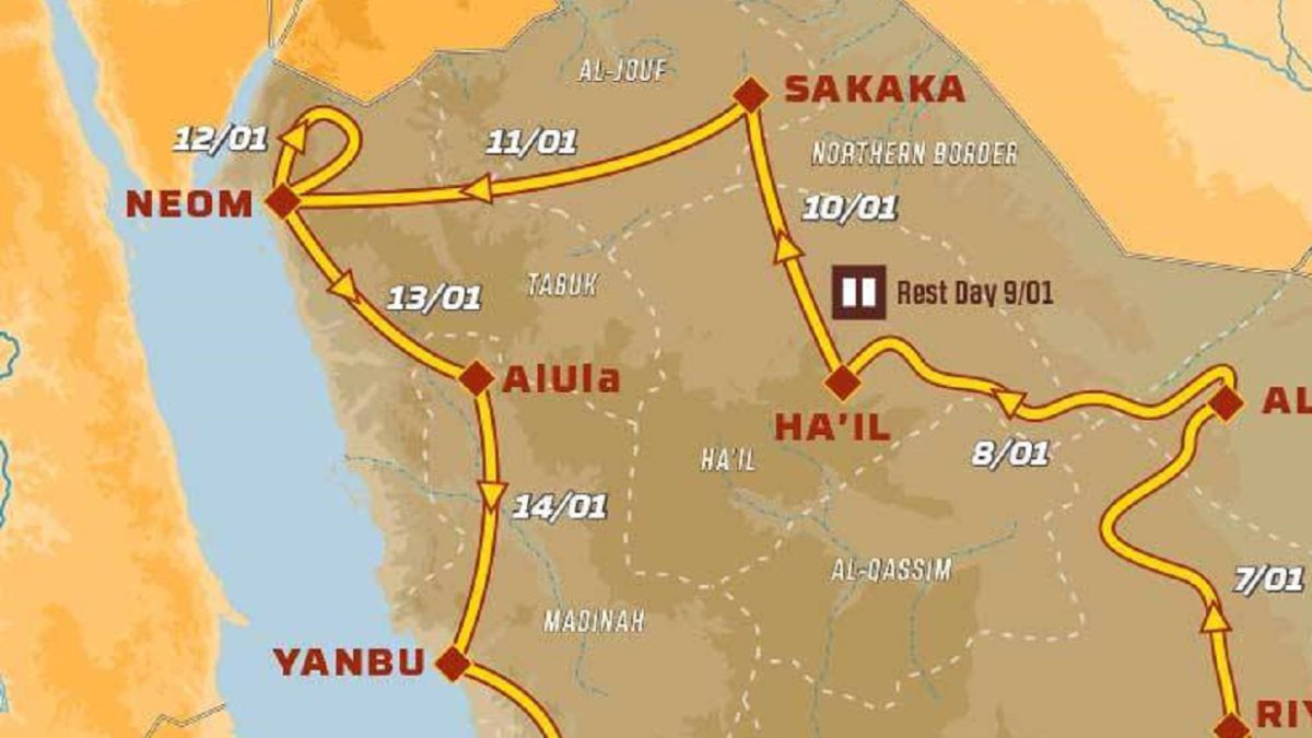 Dakar-Rally-2021:-TV-schedule-route-and-how-to-watch-stage-10-online
