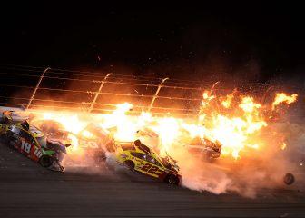 La Nascar empieza entre llamas en la Daytona 500 1