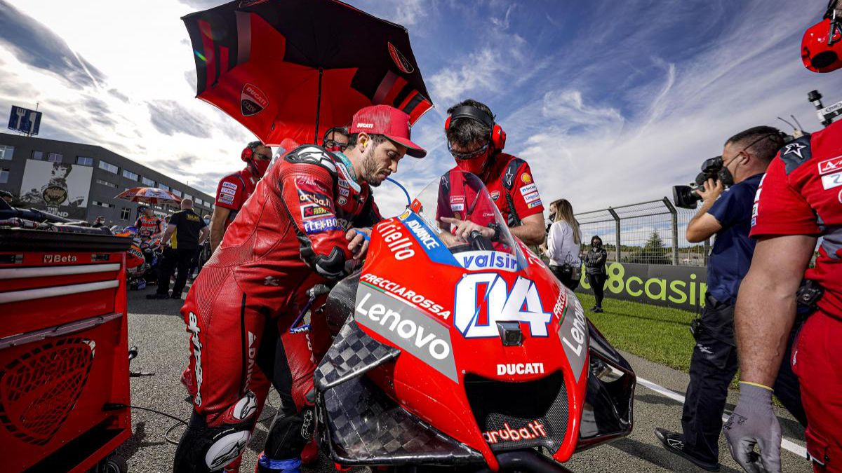 """Dovizioso's-cycle-at-Ducati-expired-before-2020"""