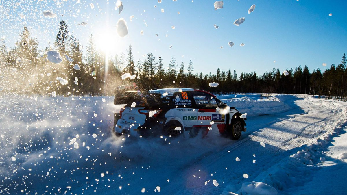 Finnish-snow-makes-its-debut-at-the-World-Rally-Championship
